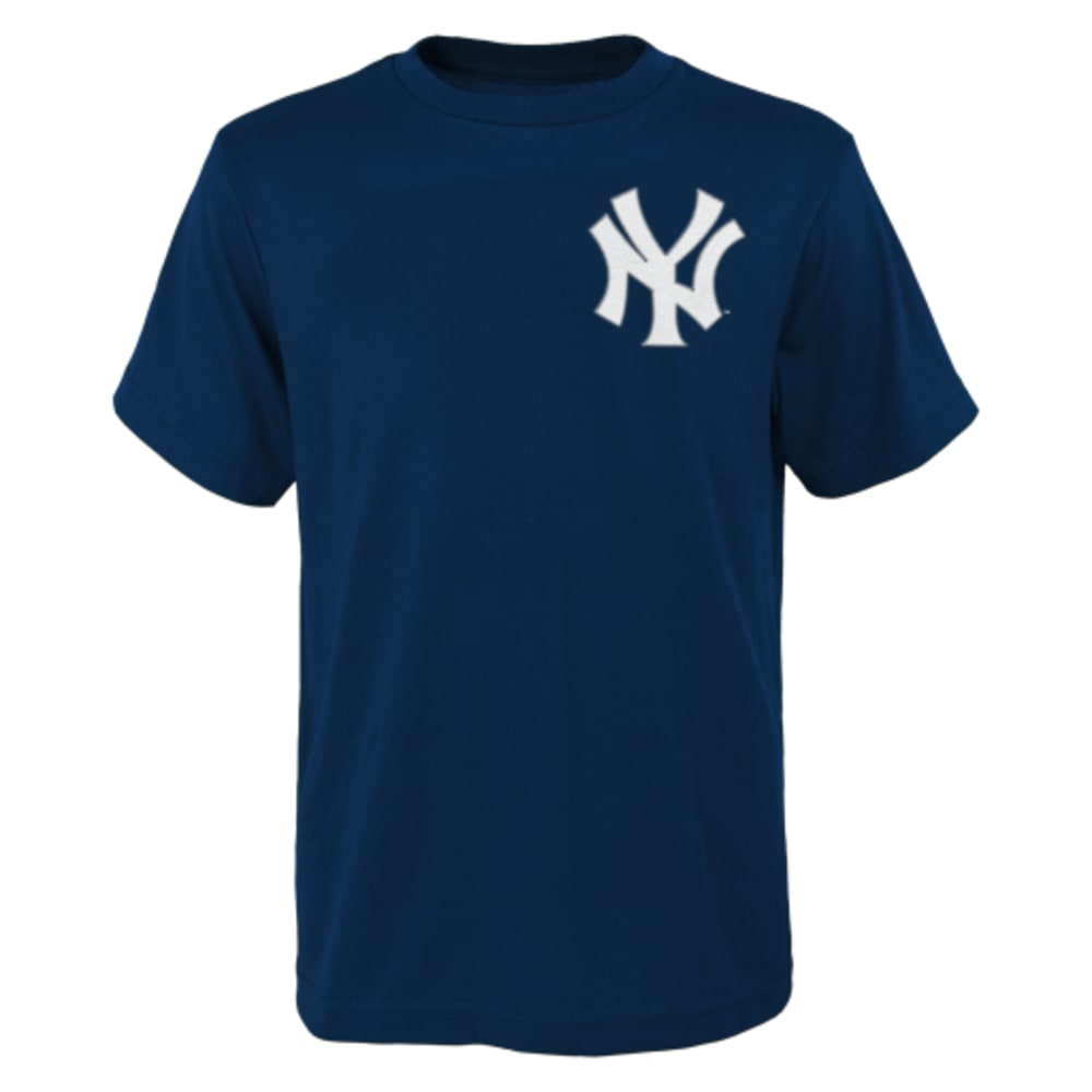 NEW YORK YANKEES Kids' Gardner #11 Tee - NAVY