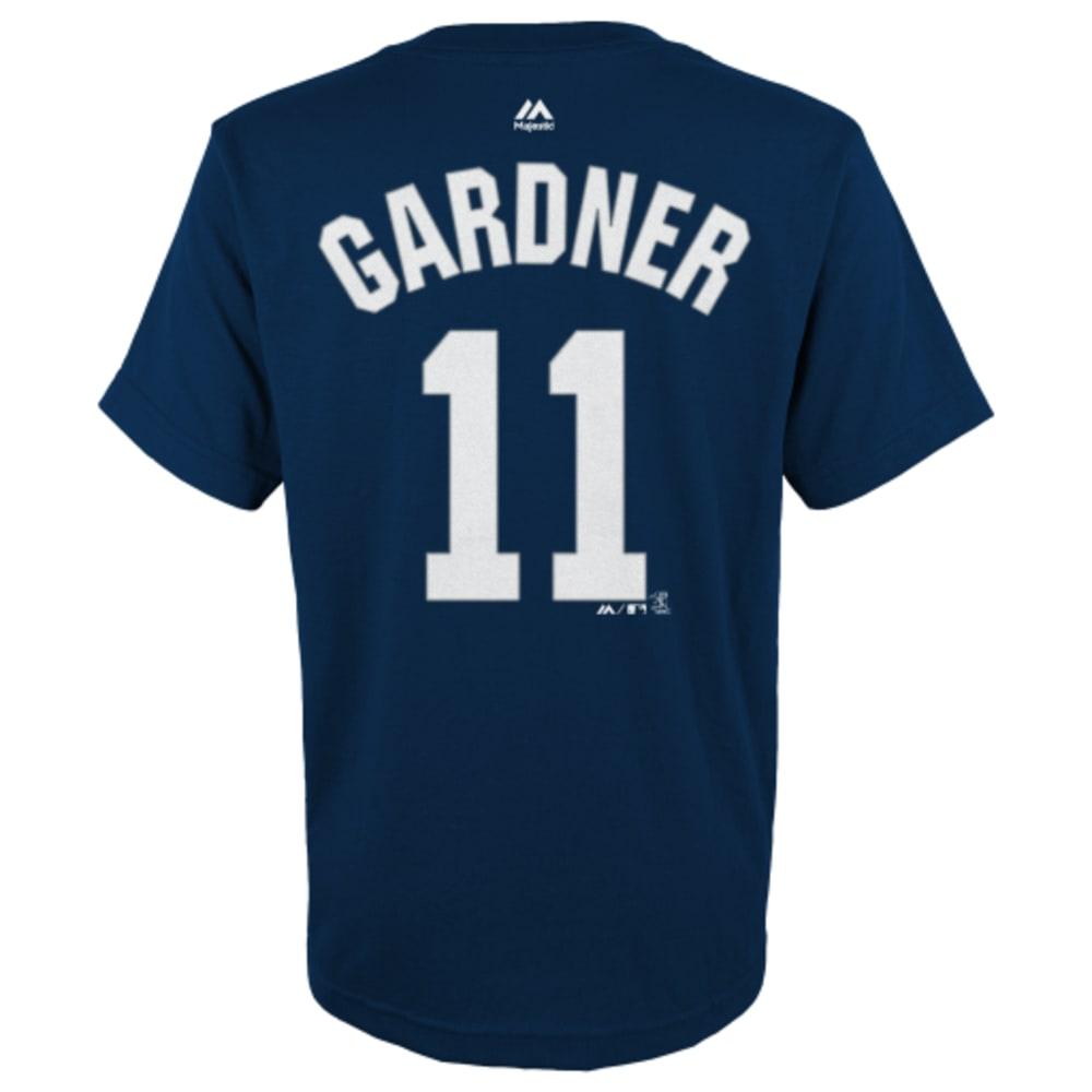 NEW YORK YANKEES Kids' Gardner #11 Tee - NAVY