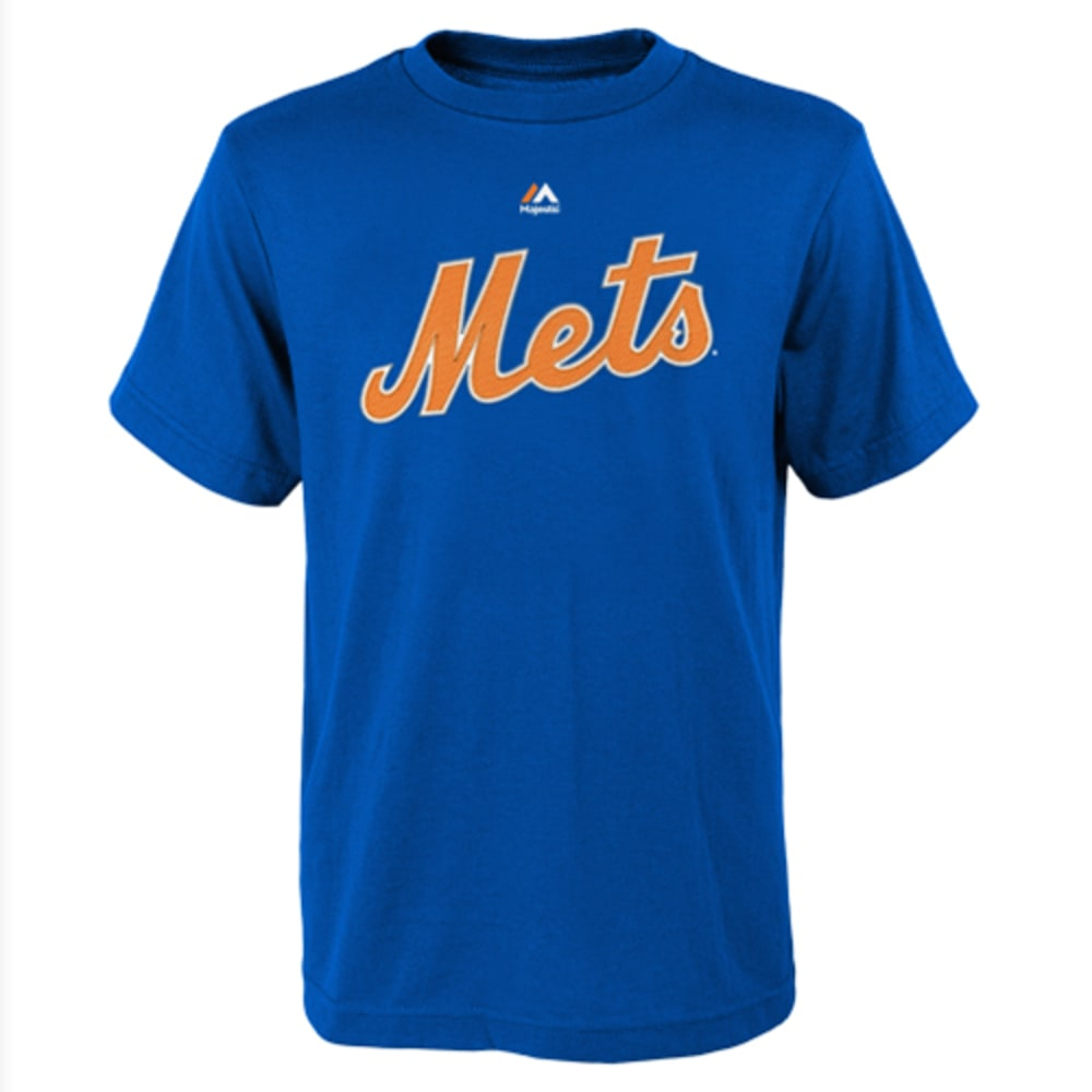 NEW YORK METS Boys' DeGrom Player Tee - ROYAL BLUE