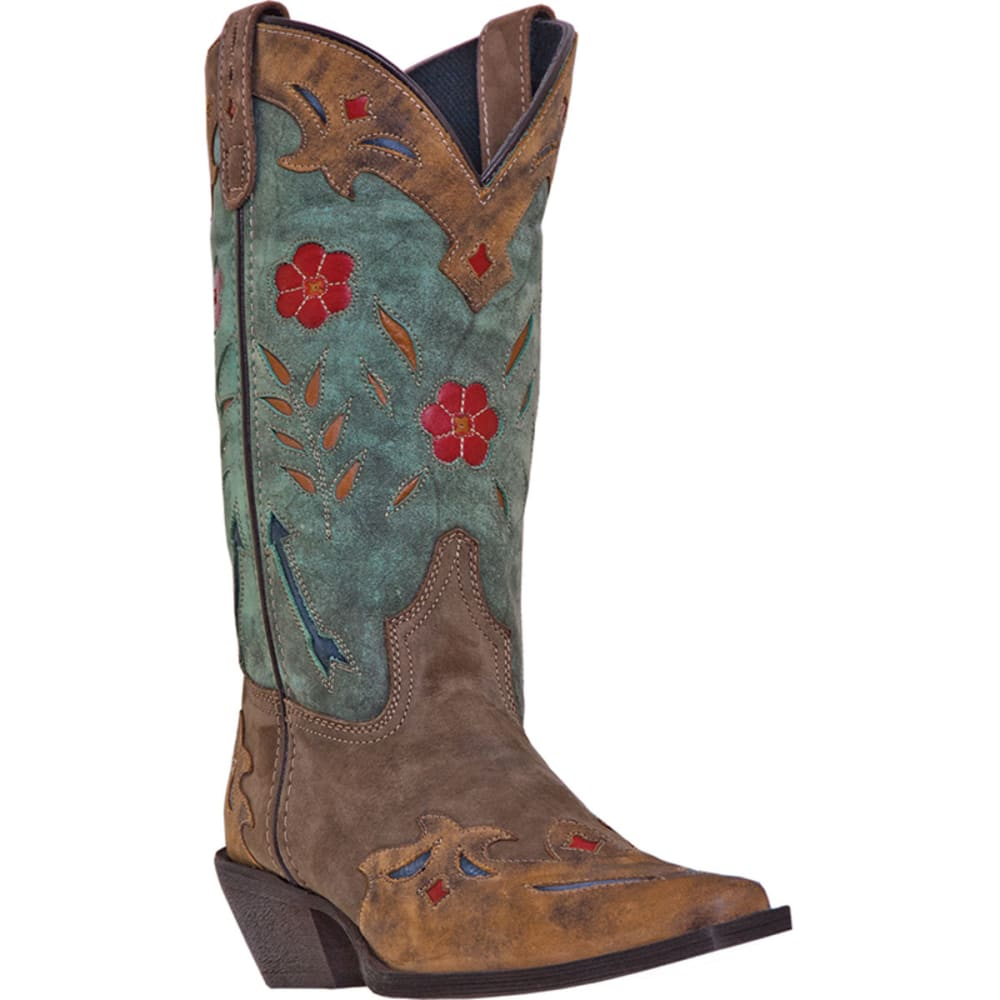 LAREDO Women's Miss Kate Boots - BROWN/TEAL