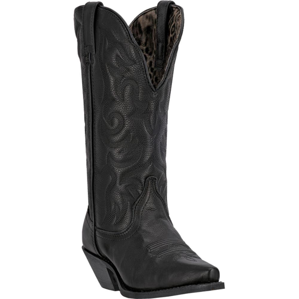 LAREDO Women's Access Boots, Wide - BLACK