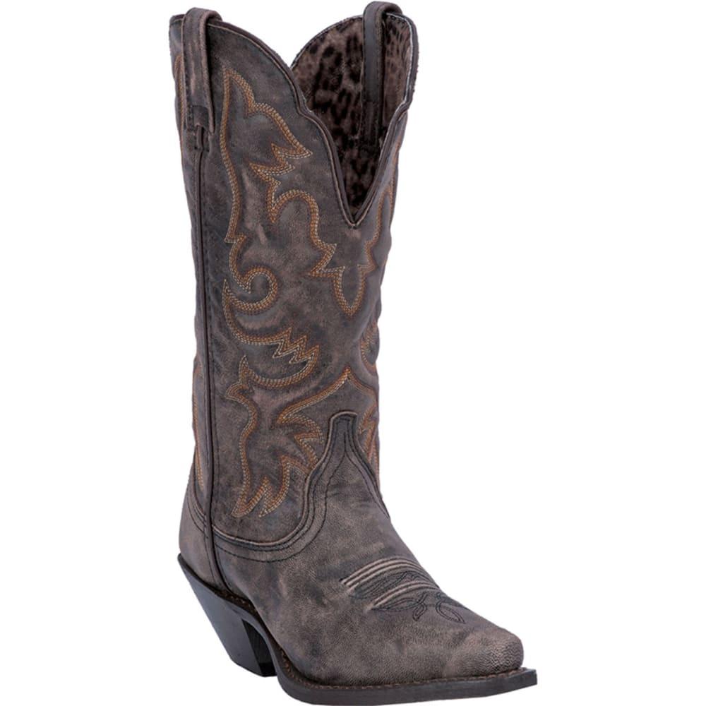 LAREDO Women's Access Boots, Wide - BLACK/TAN