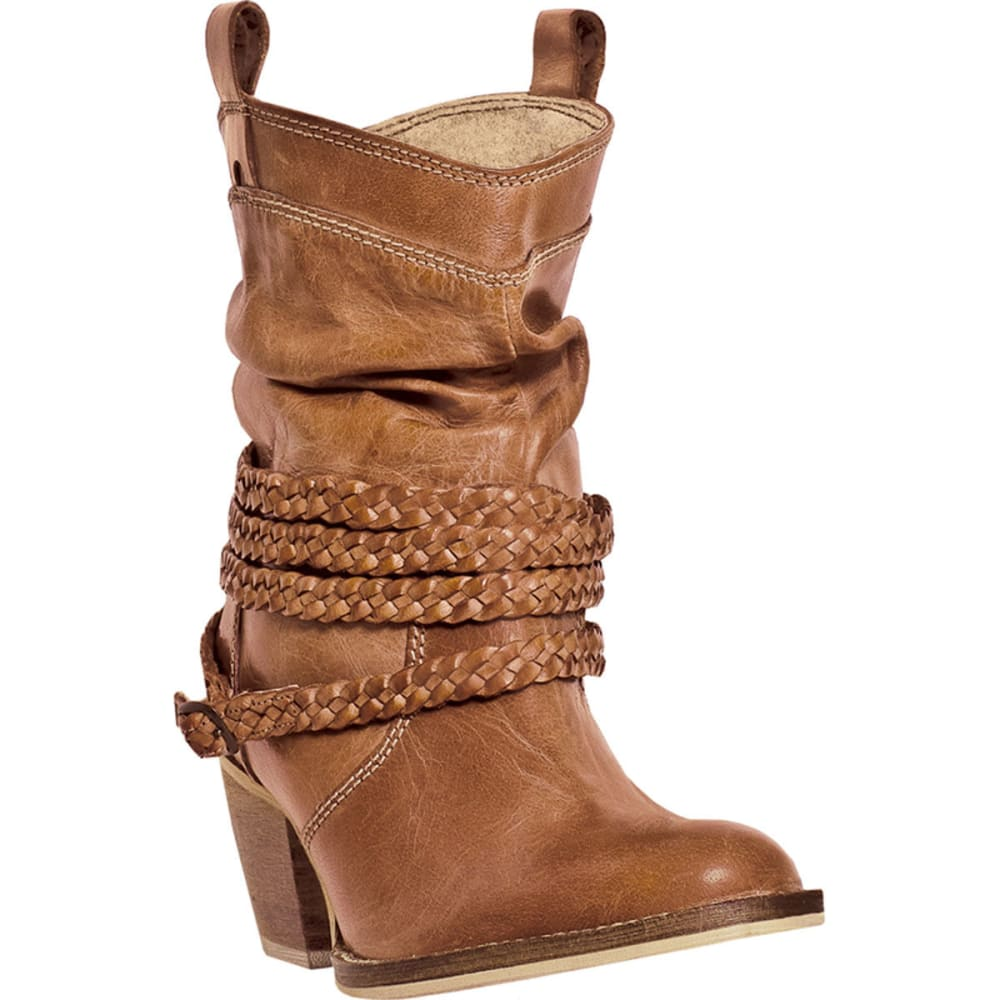DINGO Women's Twisted Sister Boots - TAN