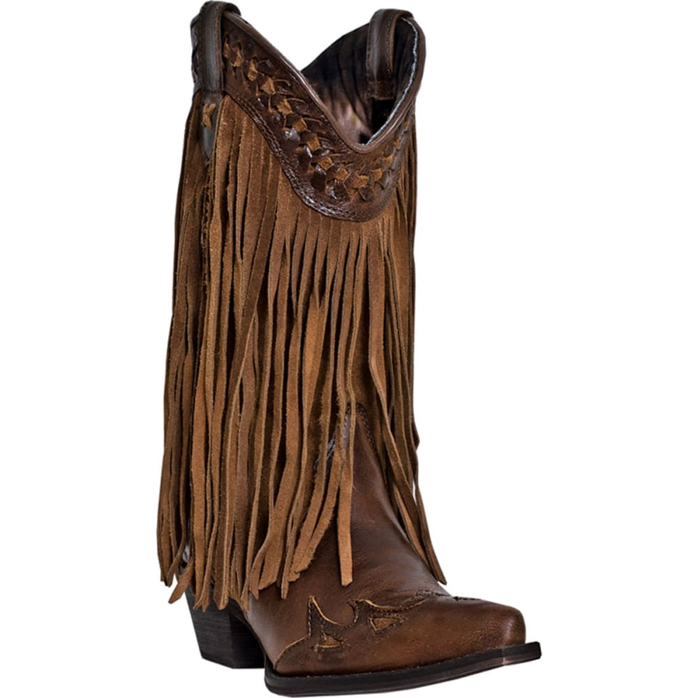 DINGO Women's Heart Throb Boots - RUSSET
