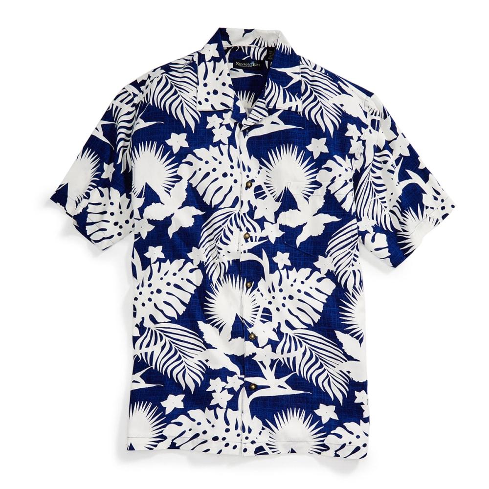 NEWPORT BLUE Men's Seaworthy Tropical Shirt - TWILIGHT/WHT