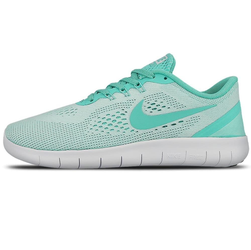 NIKE Big Girls' Free RN Running Shoes - MINT