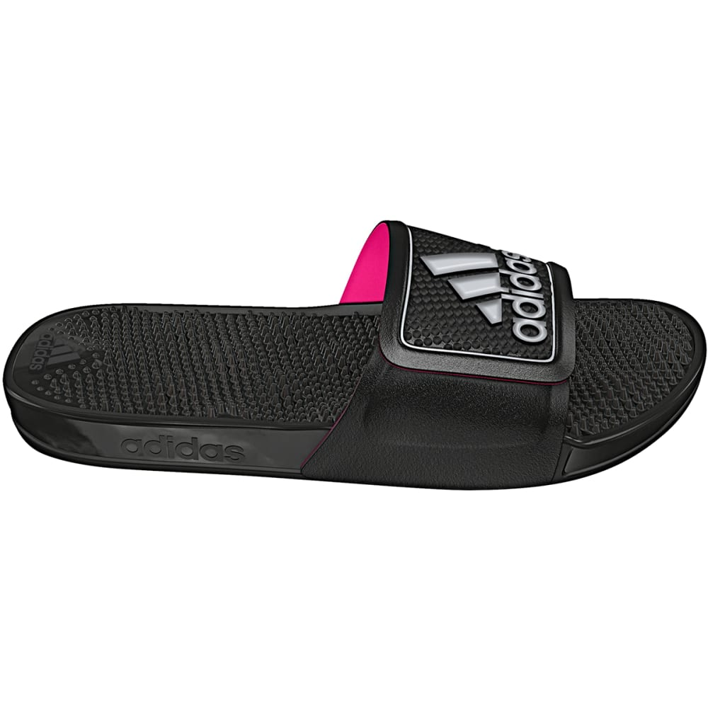 ADIDAS Women's Adissage 2.0 Slide Sandals - BLACK