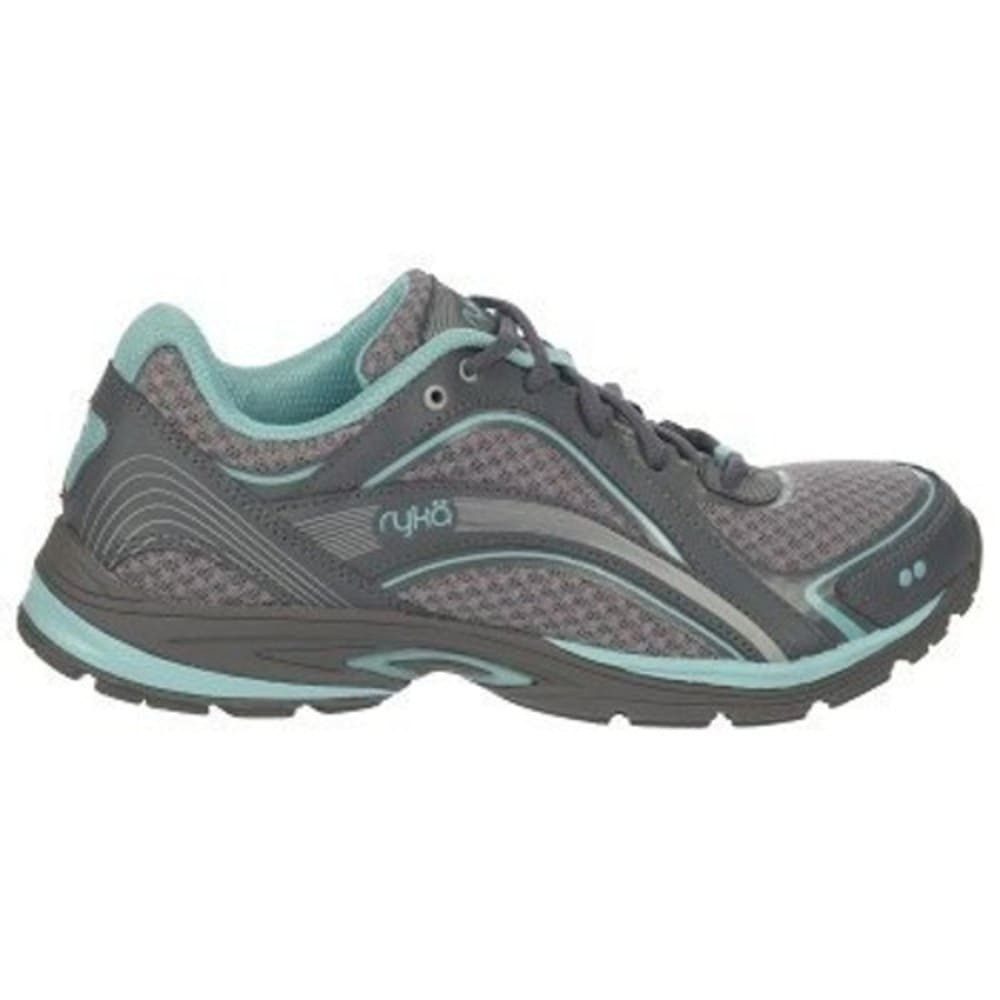 RYKA Women's Skywalk Walking Shoe, Wide - GREY - C7797M1021W