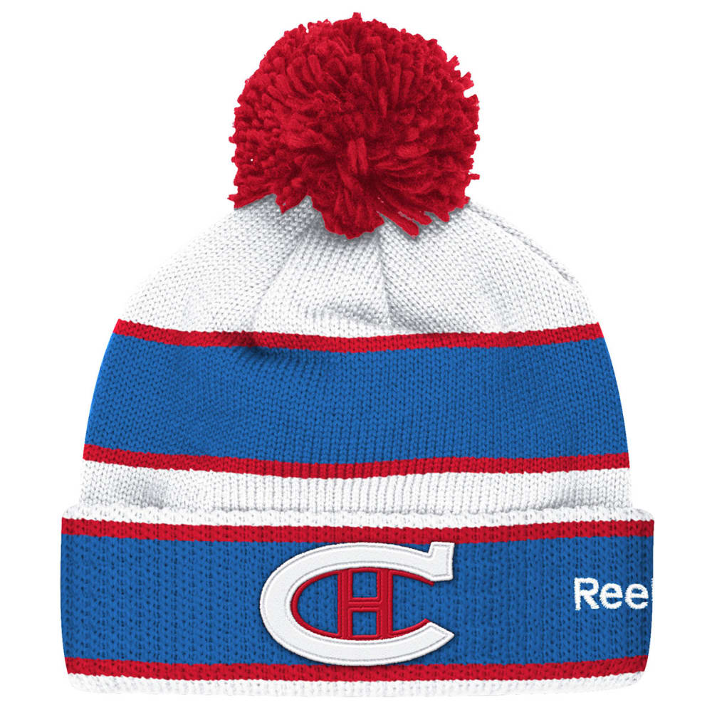 MONTREAL CANADIENS Men's 2016 Winter Classic Player Cuffed Pom Knit Hat - ASSORTED