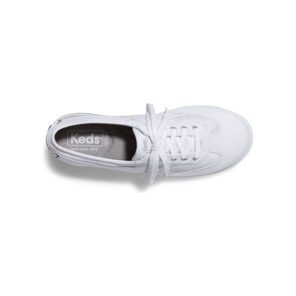KEDS Women's Craze T-Toe Shoes - WHITE