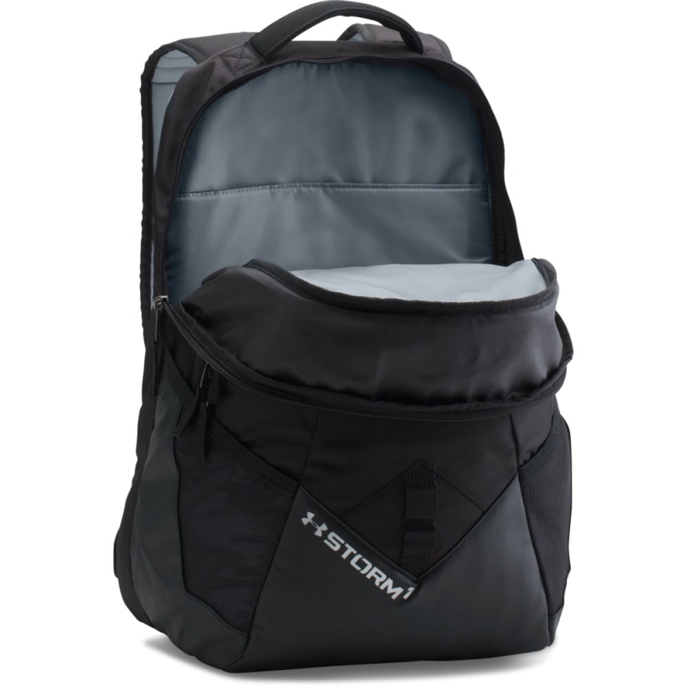 UNDER ARMOUR Storm Big Logo IV Backpack - BLACK 004