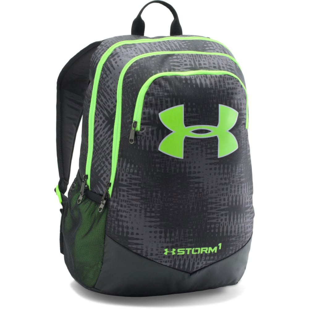 UNDER ARMOUR Boys' Scrimmage Backpack - GRAPHITE/GRN 041