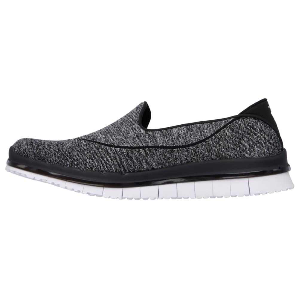 SKECHERS Women's Go Flex Walk Shoes - BLACK