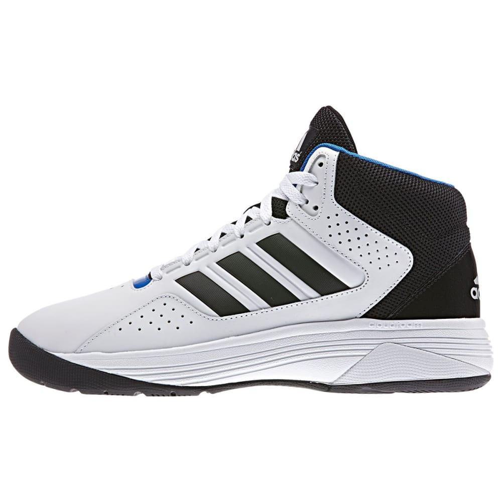 ADIDAS Men's Cloudfoam Ilation Mid Basketball Shoes, Wide - WHT/CORE BLK/MATTE