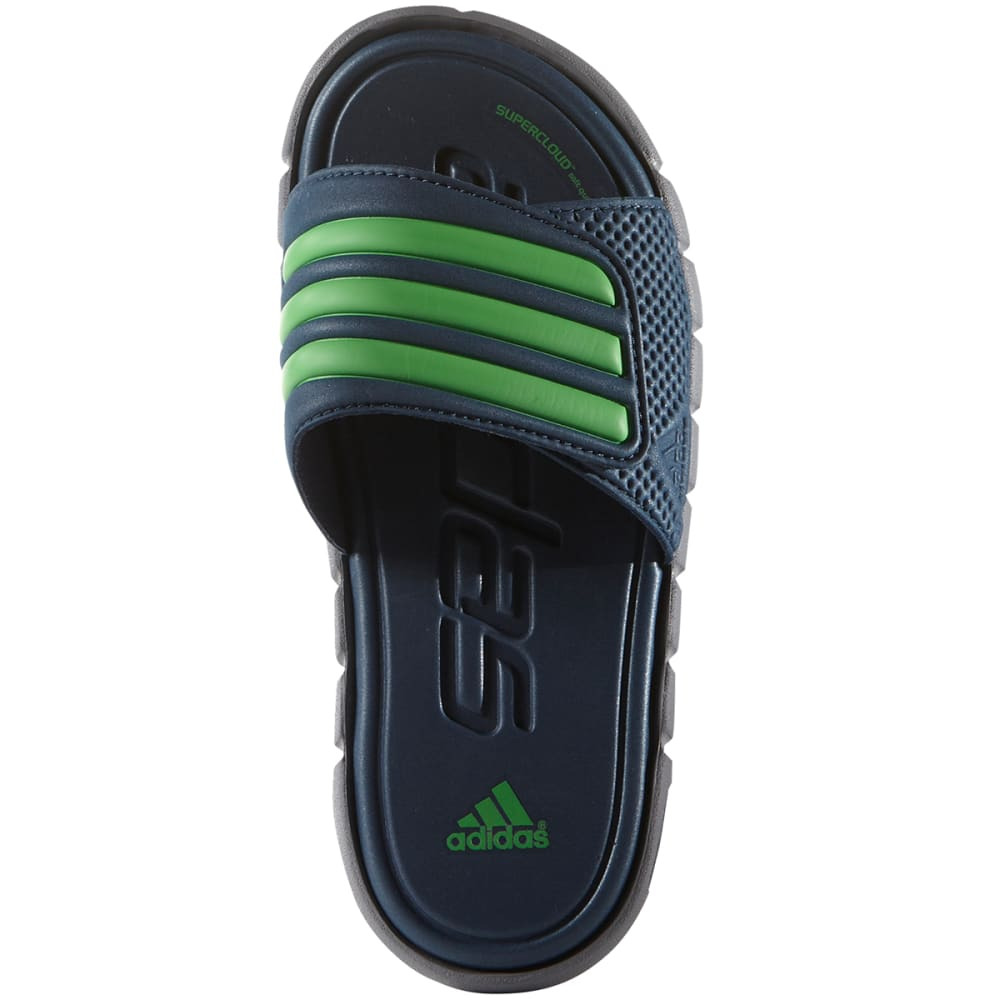 ADIDAS Kids' Adilight SC XJ Slide Sandals - GREY