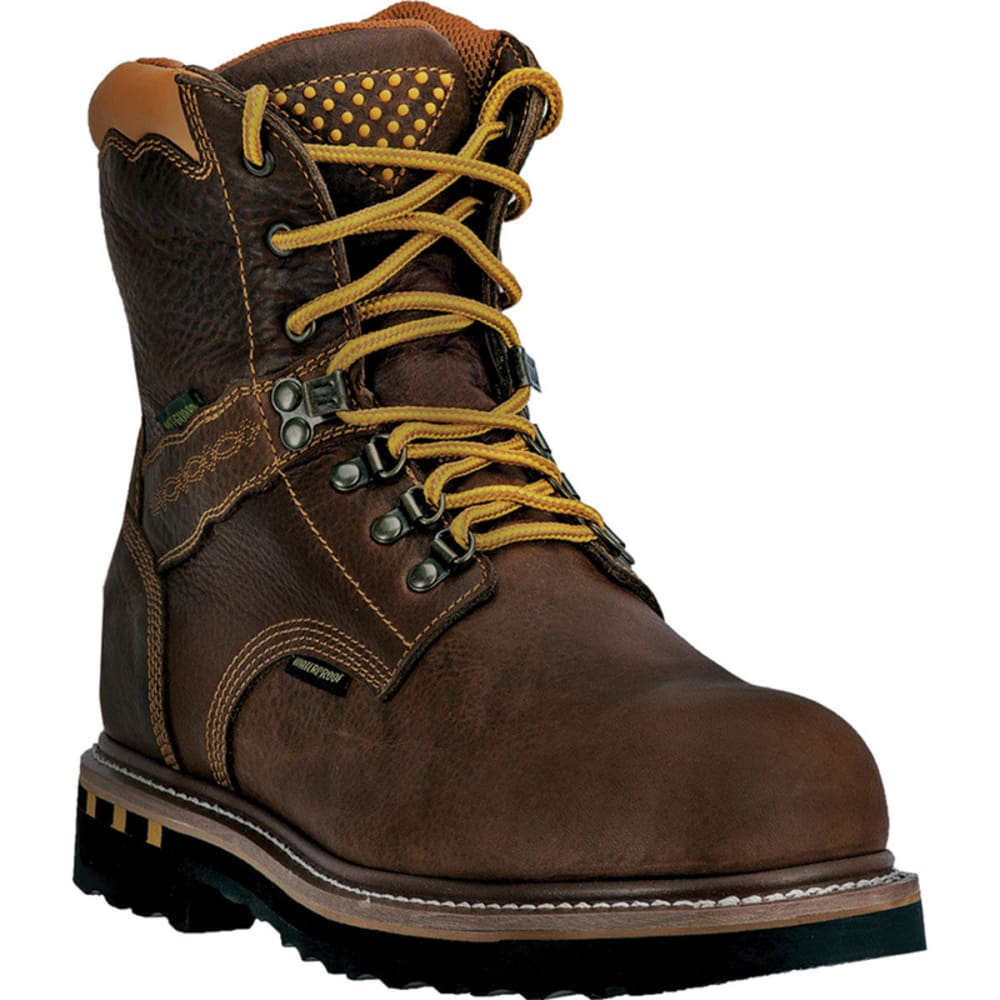 DAN POST Men's Scorpion Work Boots, Wide - BROWN