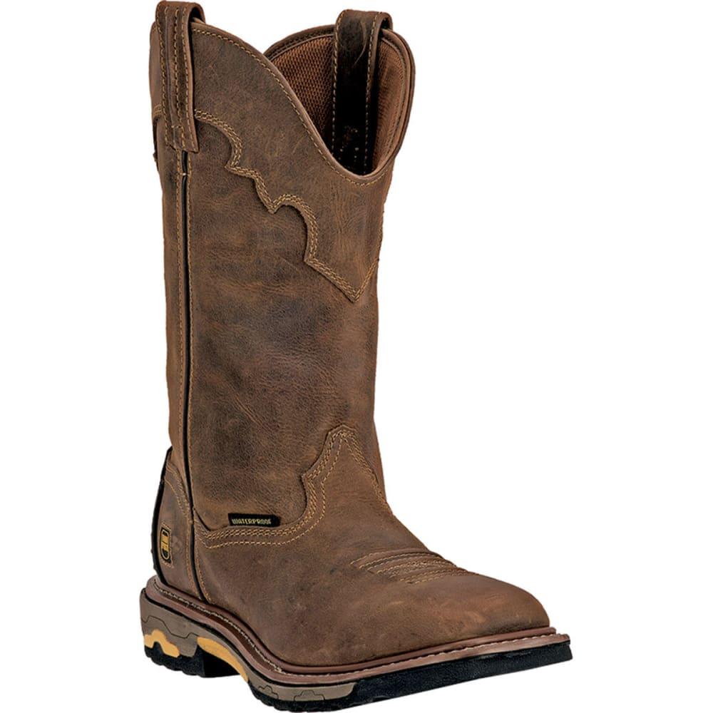 DAN POST Men's Blayde Work Boots, Wide - SADDLE TAN