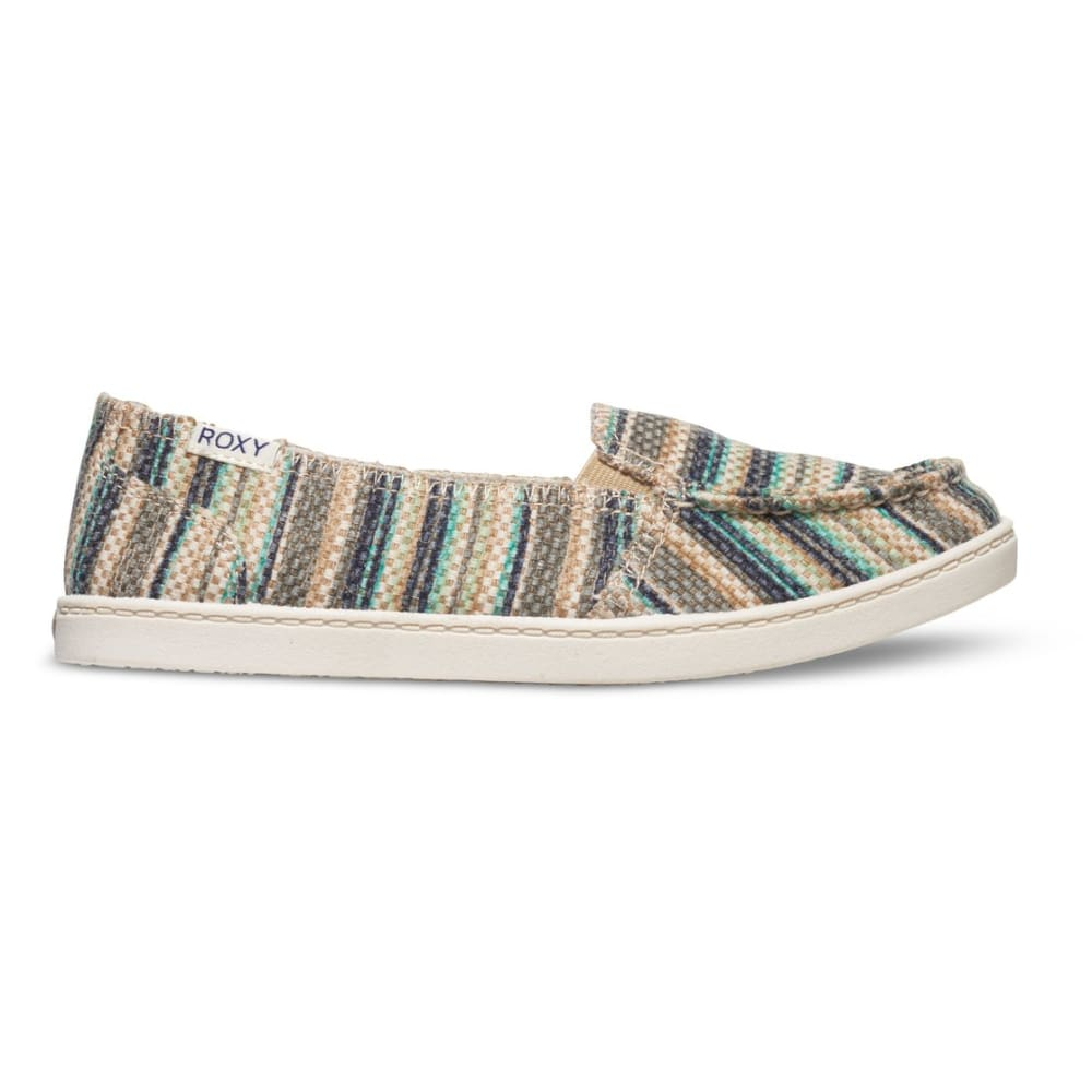 ROXY Women's Lido Stitch Slip On Shoes - TEAL