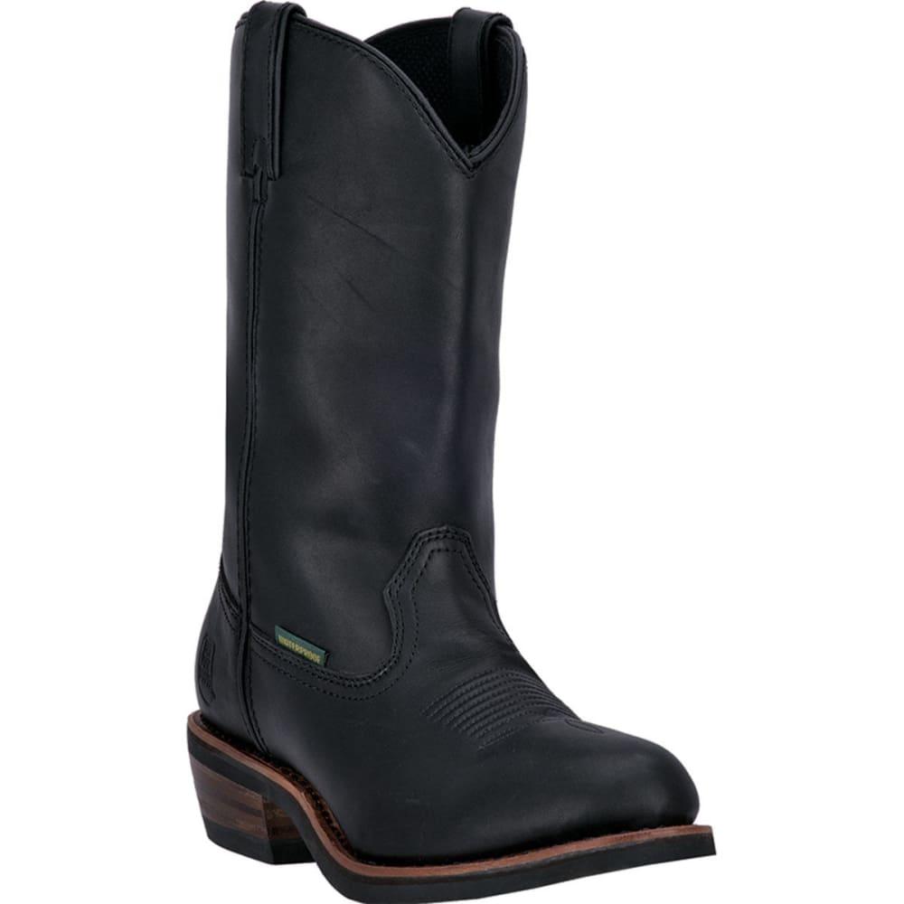 DAN POST Men's Albuquerque Waterproof Cowboy Boots, Wide - BLACK