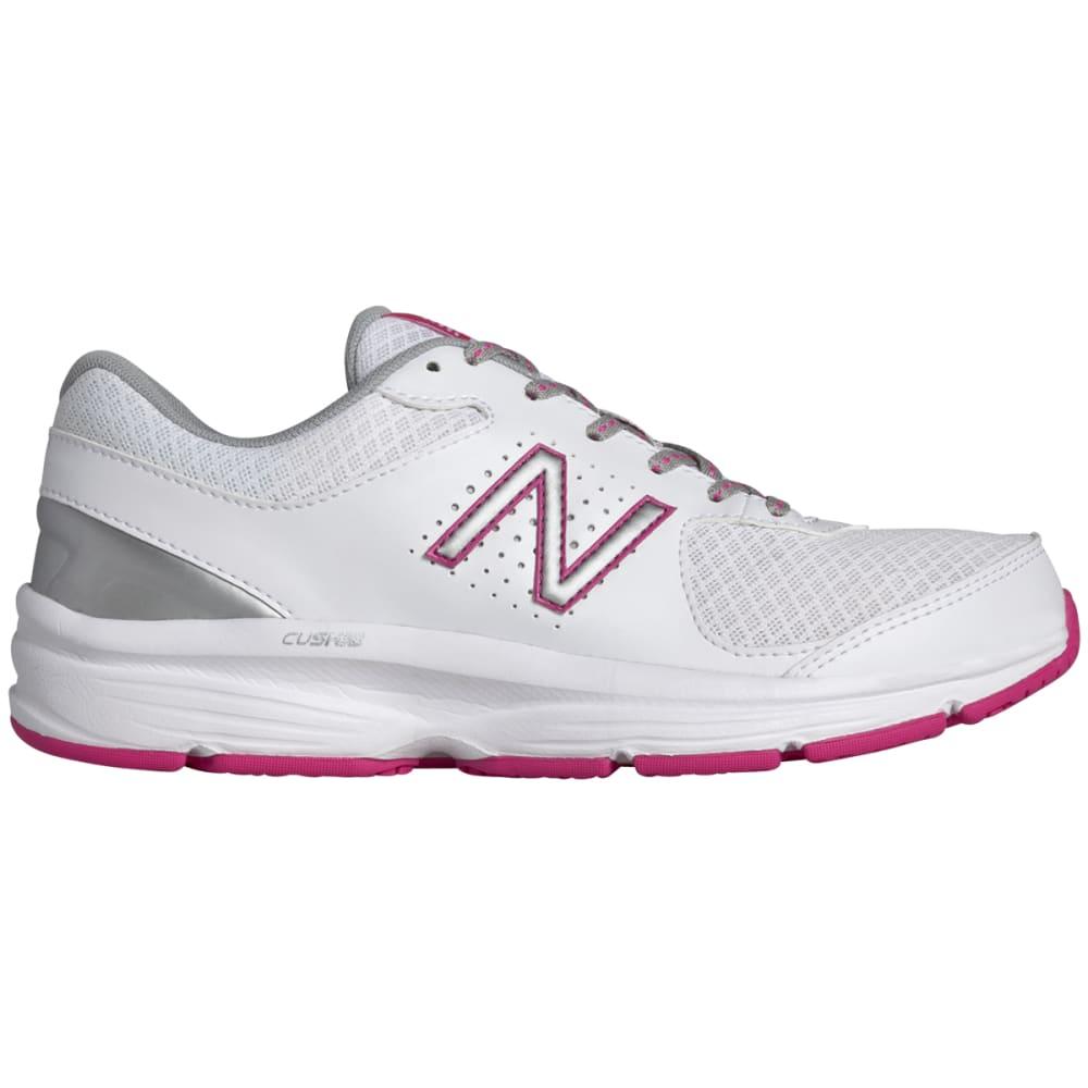 NEW BALANCE Women's 411v2 Walking Shoes, Medium Width - WHITE MEDIUM