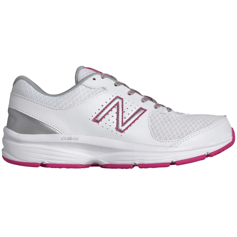 New Balance Women's 411V2 Walking Shoes, Wide Width - White, 6