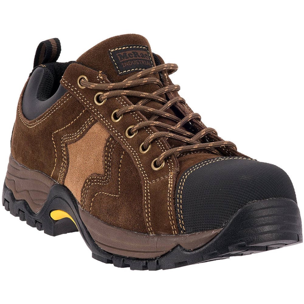 MCRAE Men's Low Composite Toe Boots - BROWN