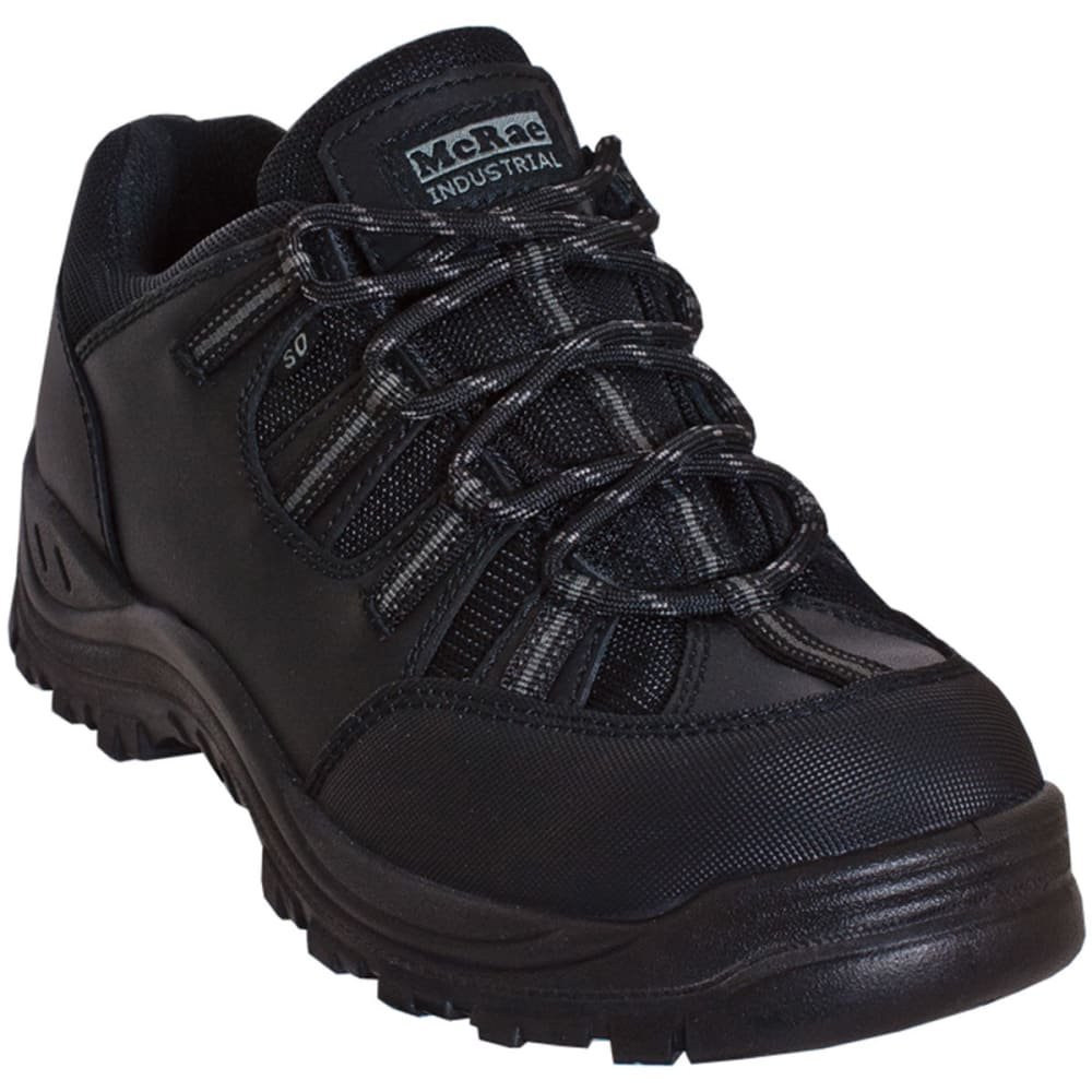 MCRAE Men's Composite Toe Hiker Shoes, Wide - BLACK