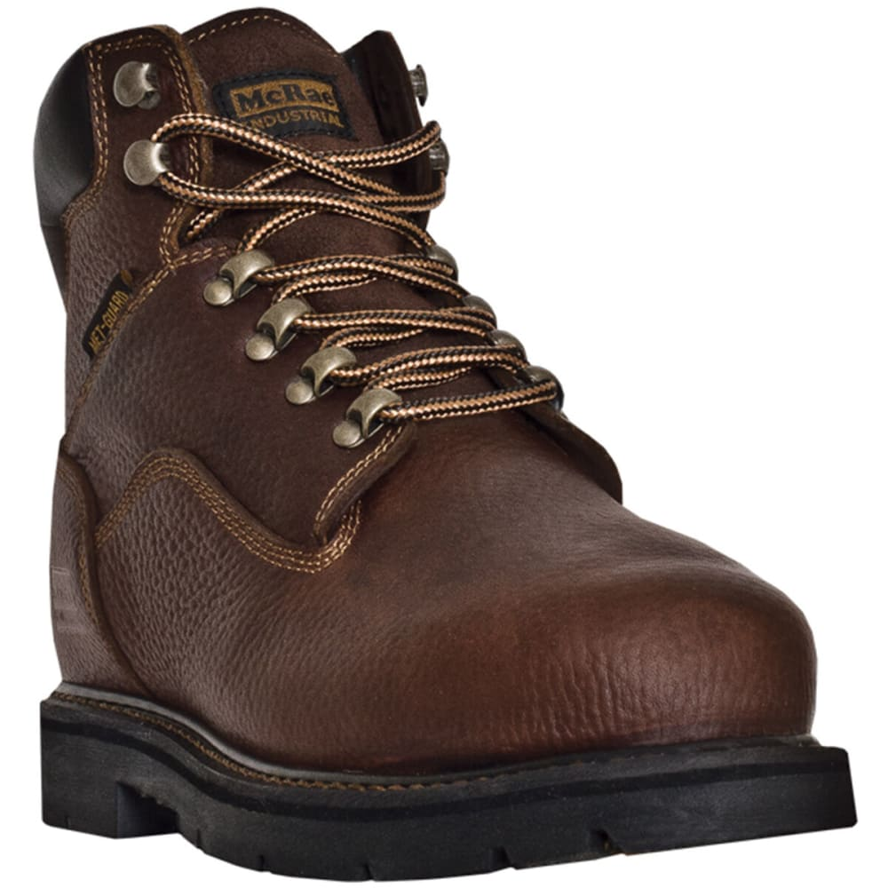 MCRAE Men's 6'' Metatarsal Lace Up Boot - BROWN