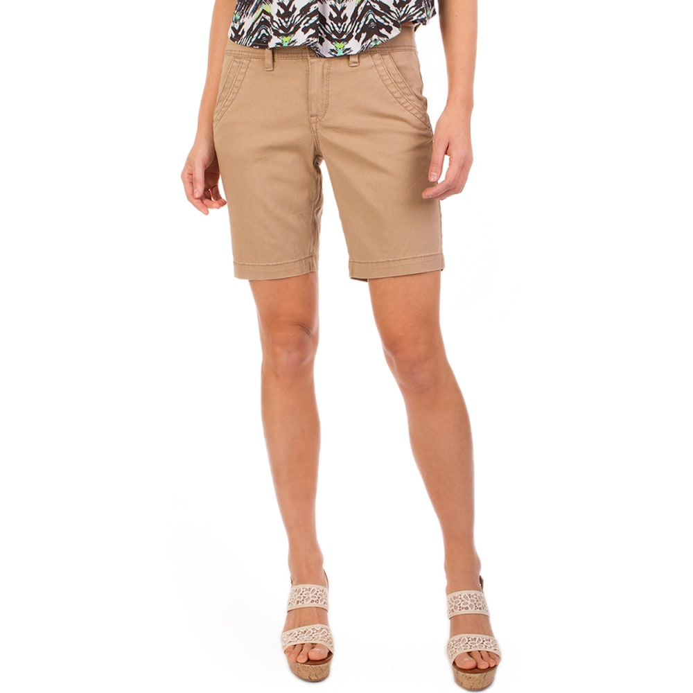 UNIONBAY Women's Gabbie Short - 151J-SANDY BROWN