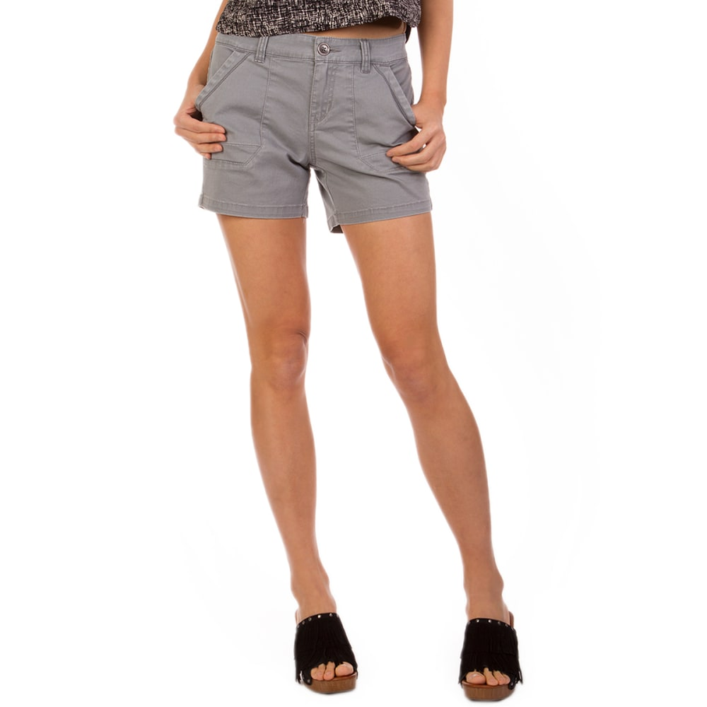 SUPPLIES BY UNION BAY Women's 5 in. Cassia Shorts - 022J-EDGE GREY