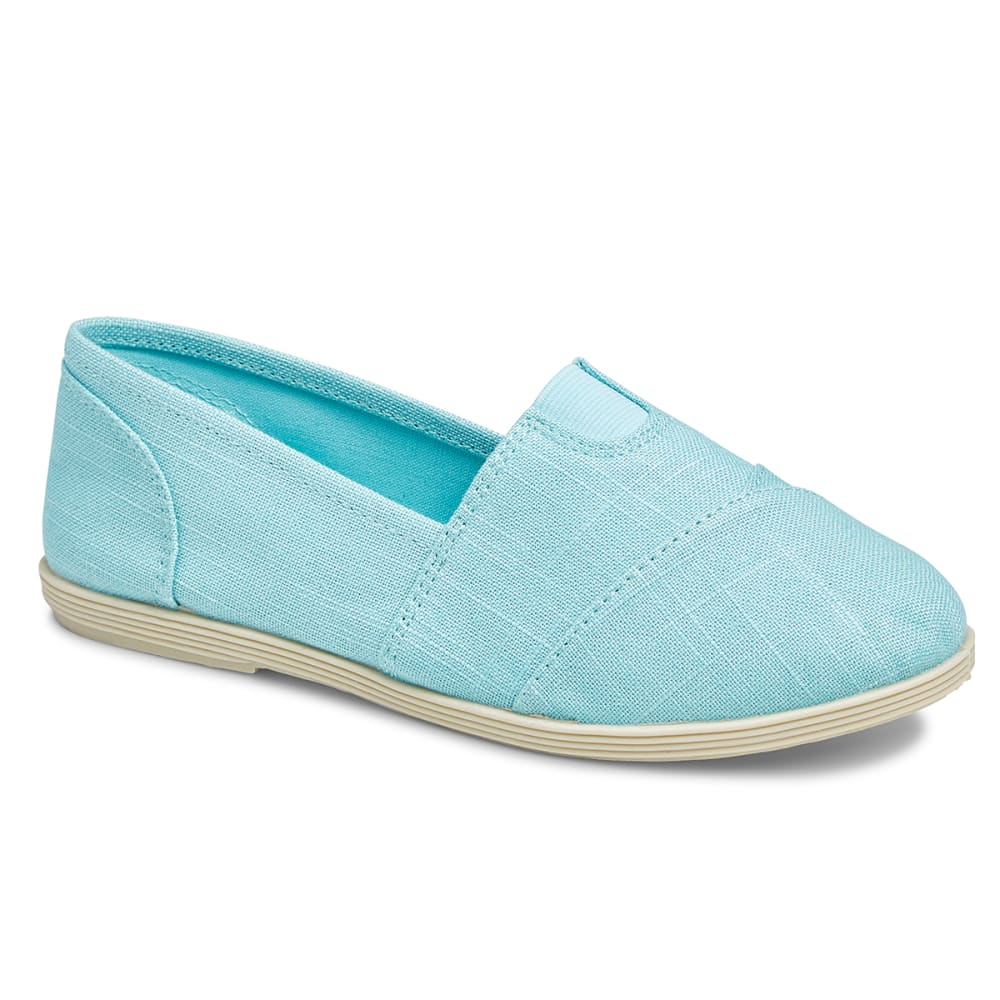 SODA Women's Object Flats, Aqua - AQUA