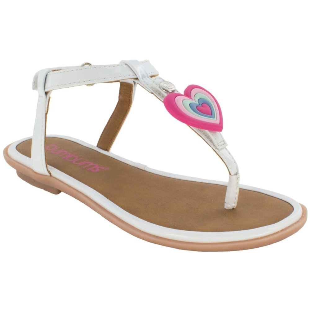 BUMBUMS & BAUBLES Girls' Belle Sandals - WHITE