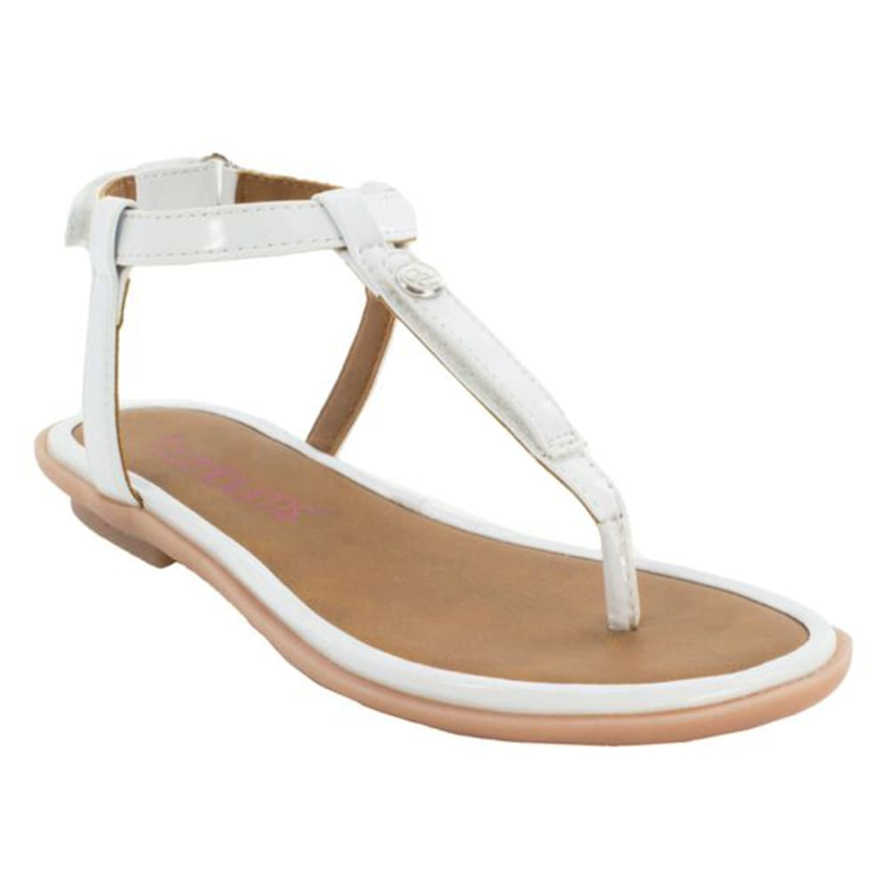 Bumbums & Baubles Girls' Belle Sandals - White, 11