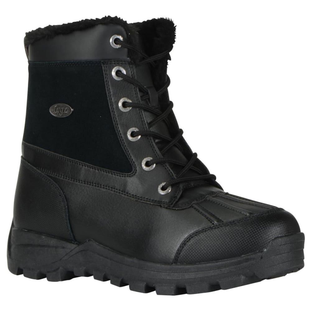 LUGZ Men's Tambora Mid Water-Resistant Boots - BLACK