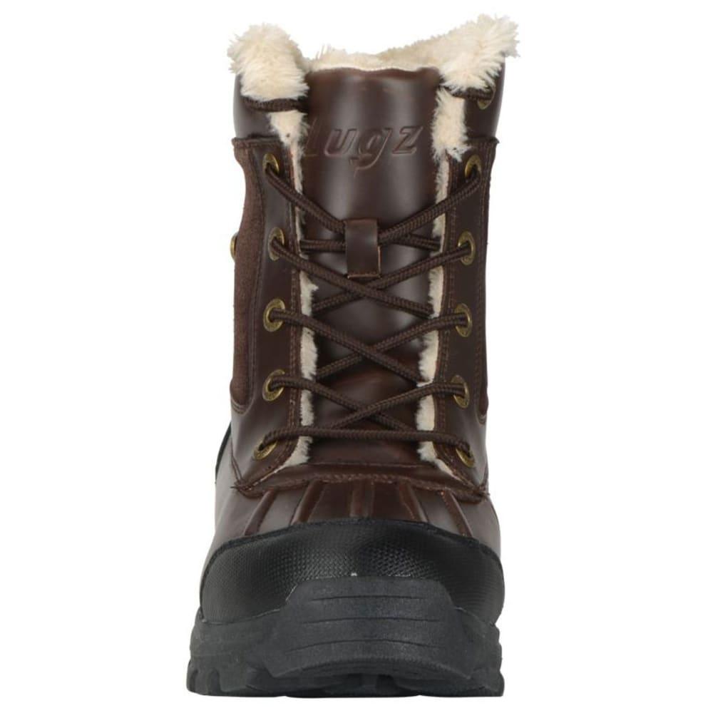 LUGZ Men's Tambora Mid Water-Resistant Boots - RED-BROWN/BLACK/CRM