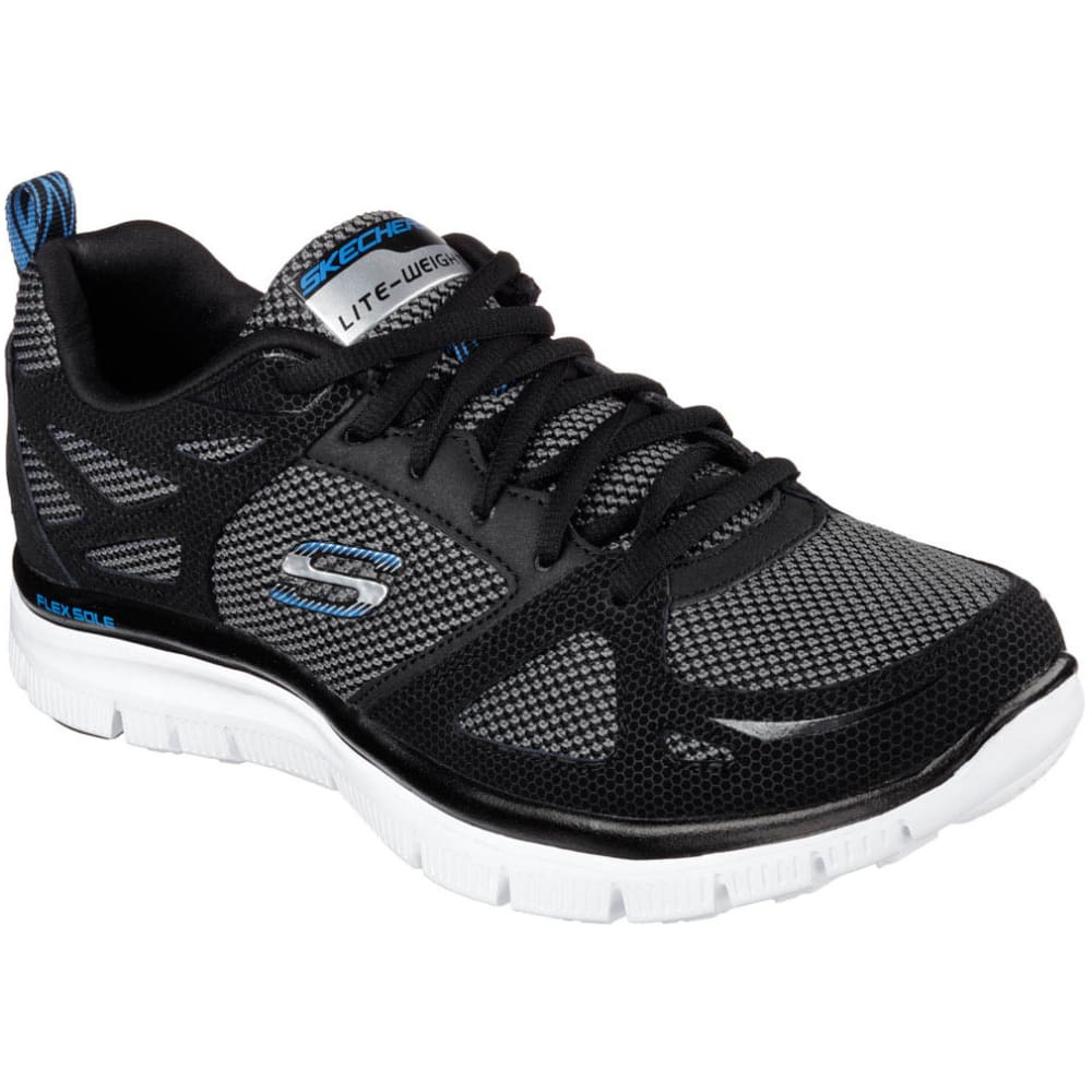 SKECHERS Men's Flex Advantage First Team Shoes - BLACK