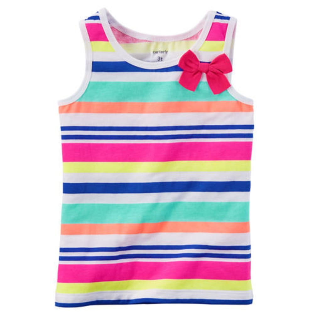 CARTERS Toddler Girls' Multi Stripe Tank - STRIPES