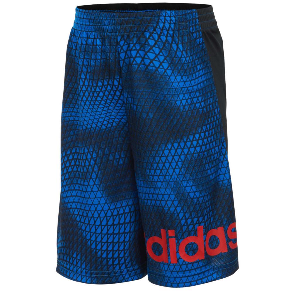 ADIDAS Boys' Tech Snake Shorts - BLACK K01-001