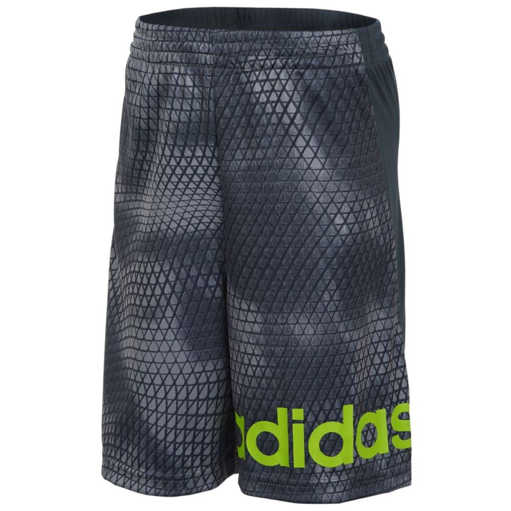 ADIDAS Boys' Tech Snake Shorts - MERCURY GRY H04-021