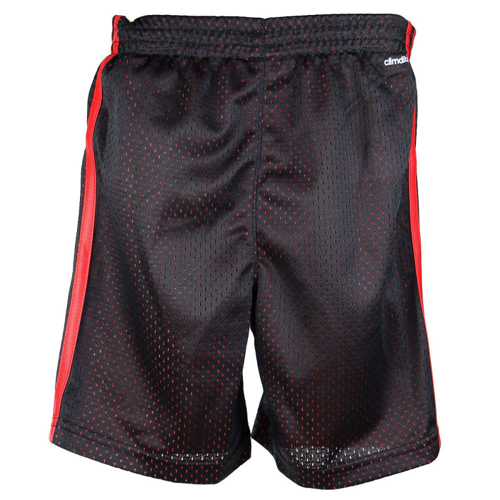 ADIDAS Boys' Impact Mesh Shorts - BLK/R AH5201-K11-005