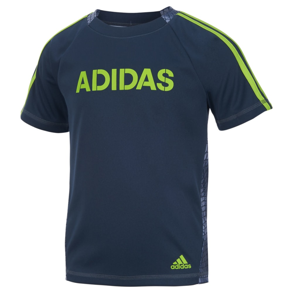 Adidas Boys' Tech Snake Top - Black, 5