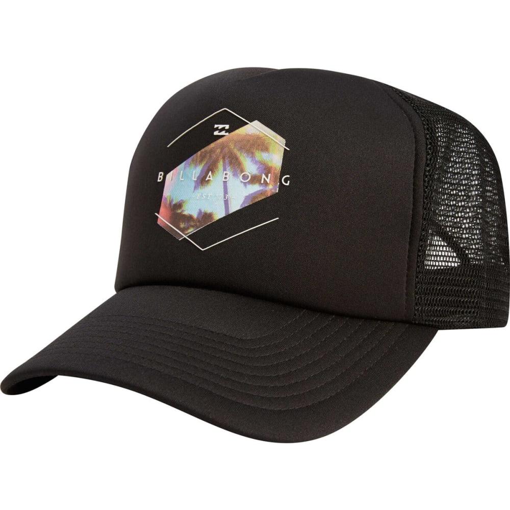 BILLABONG Men's Mixup Trucker Hat - BLACK/WHITE-BLW