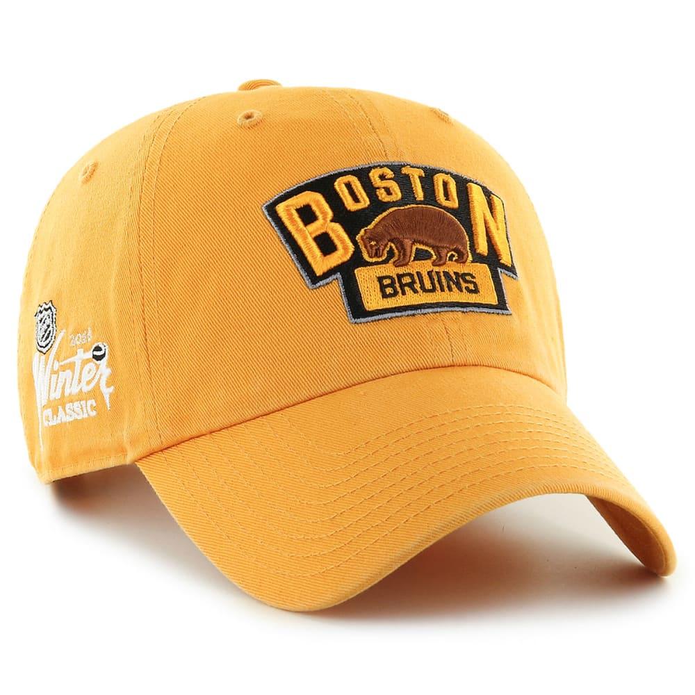 BOSTON BRUINS Men's 2016 Winter Classic Clean Up Adjustable Cap - GOLD