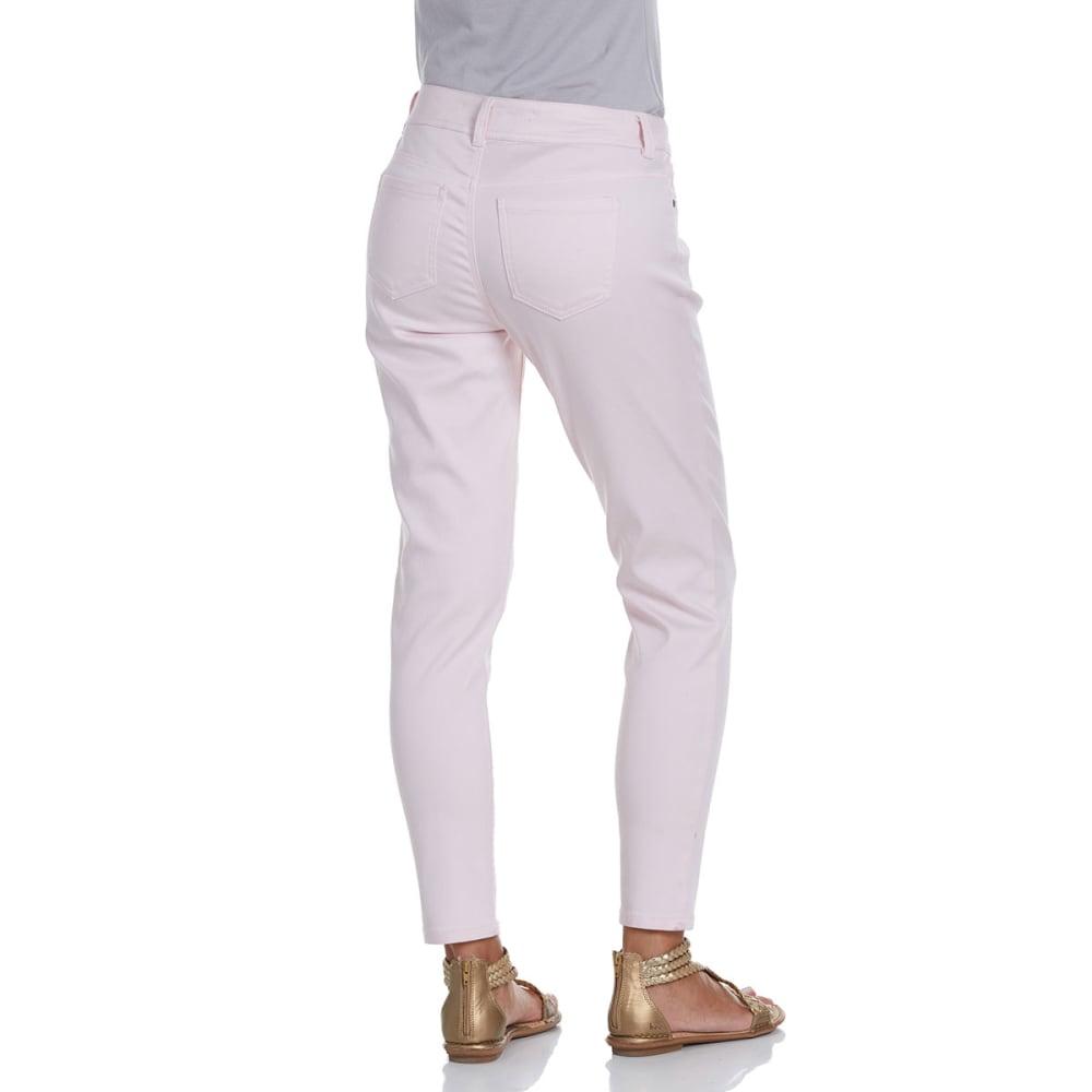 BACCINI Women's 5-Pocket Skinny Ankle Pants - BLUSH