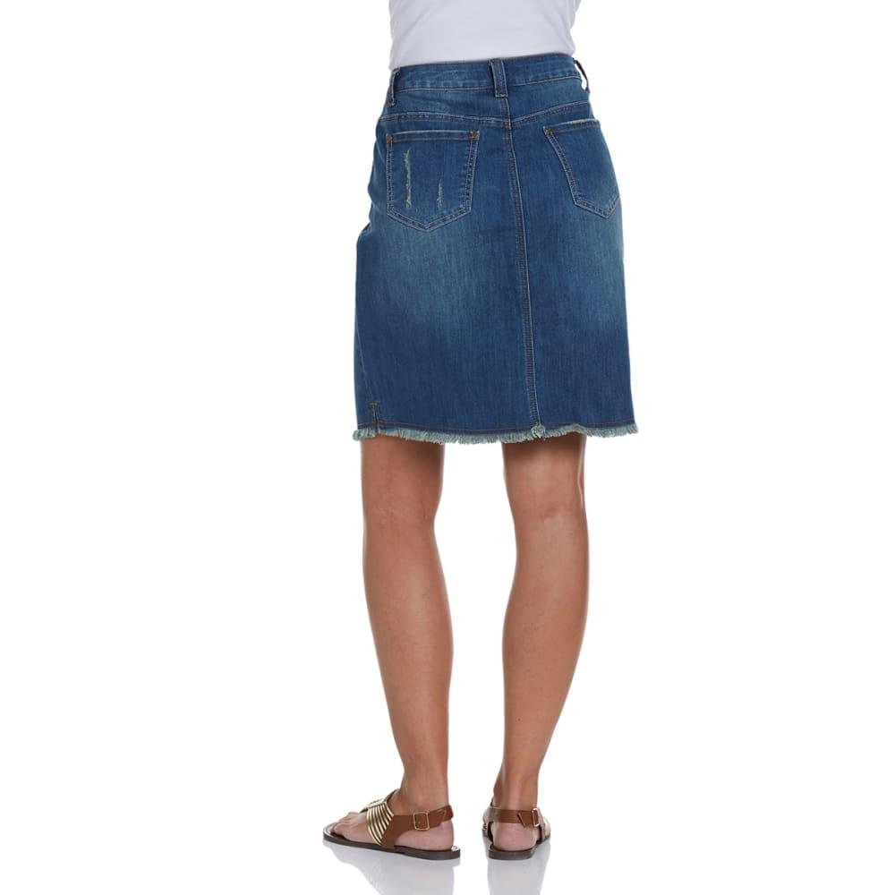 BACCINI Women's Denim Skirt - RINSE WASH