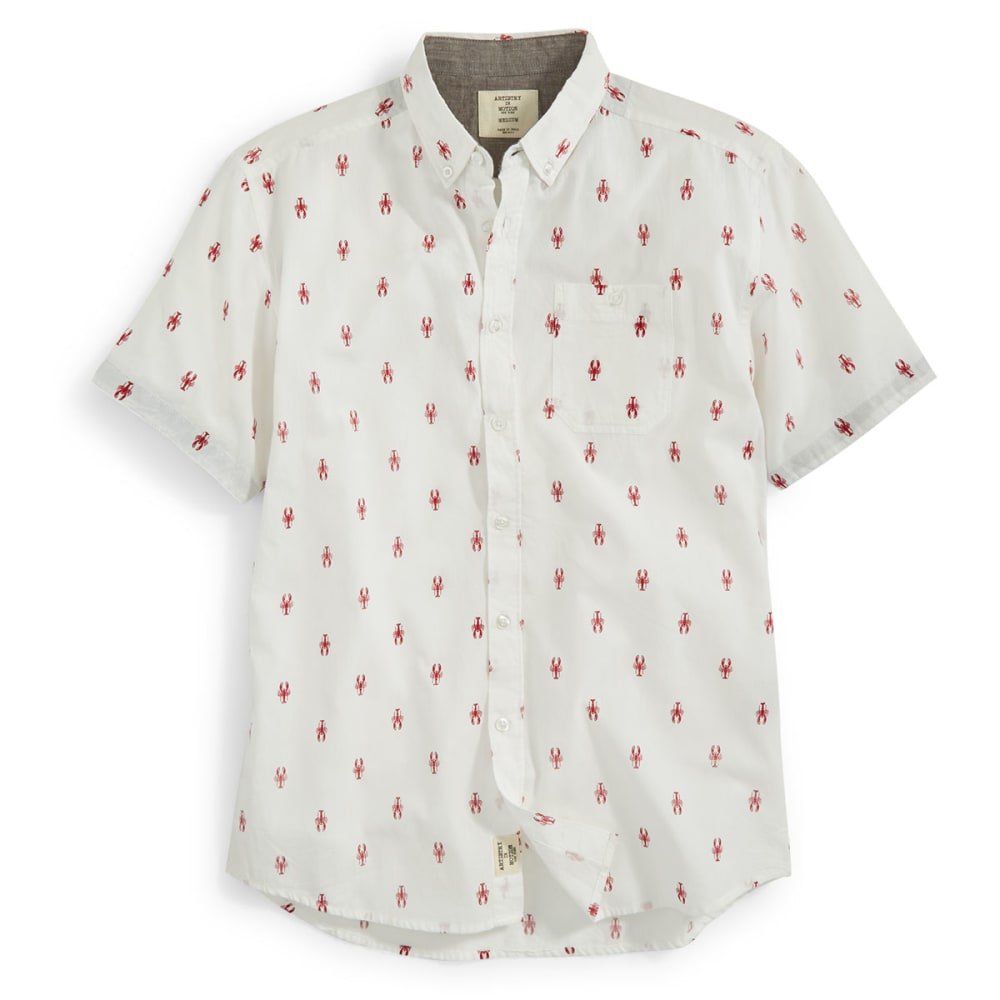 ALPHA BETA Guys' Lobster Shirt - WHITE