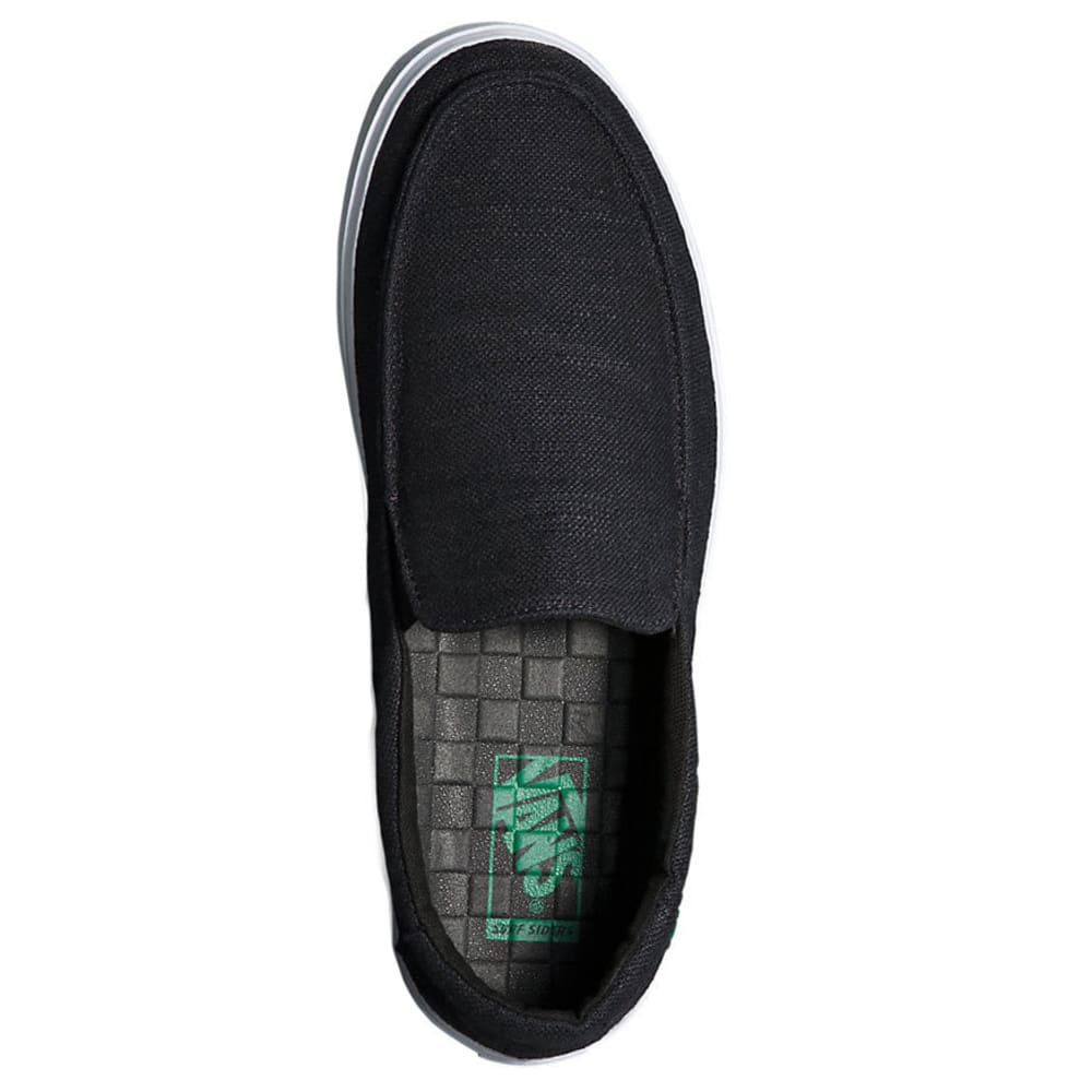 VANS Men's Bali Hemp SF Slip-On Shoes - BLACK