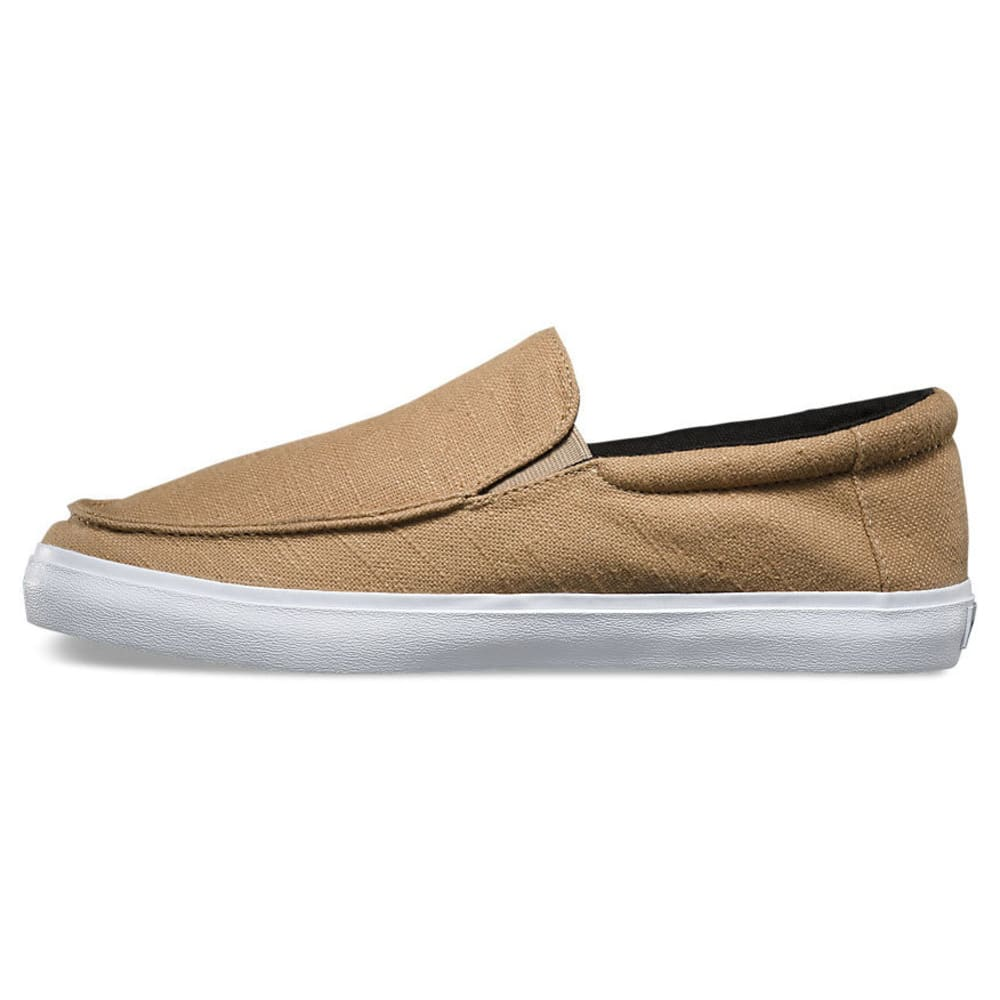 VANS Men's Bali Hemp SF Slip-On Shoes - KHAKI