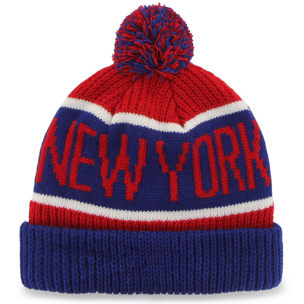 NEW YORK GIANTS '47 Calgary Cuffed Pom Knit Beanie - ASSORTED