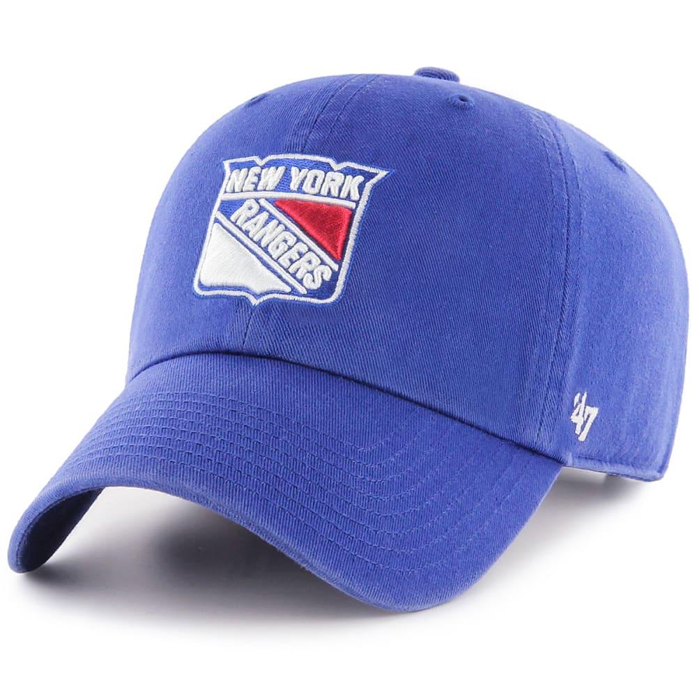 NEW YORK RANGERS '47 Clean Up Adjustable Cap - ROYAL BLUE